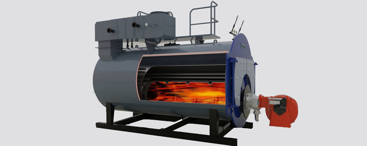 Boiler gas burners